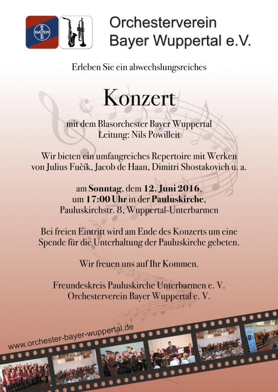 Plakat Pauluskirche 6/2016