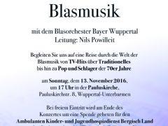 Konzert, Pauluskirche, 13.11.2016